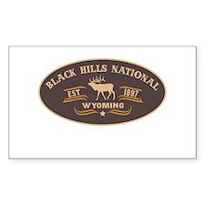 Black Hills Belt Buckle Badge Decal