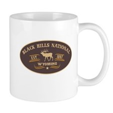 Black Hills Belt Buckle Badge Mug