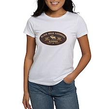 Black Hills Belt Buckle Badge Tee