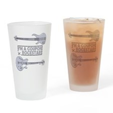 COUPON ROCKSTAR! Drinking Glass