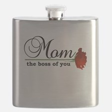 Mom: The Boss of You Flask