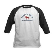 Hampton Beach NH - Moose Design. Tee