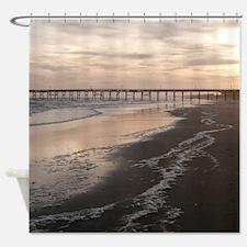 Cute Surfside beach Shower Curtain