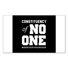 Constituency of No One Decal