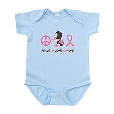 Ladybug Peace Love Hope Infant Bodysuit