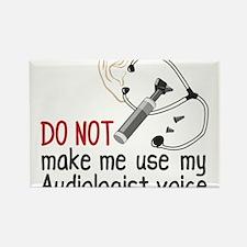 Audiologist Voice Rectangle Magnet