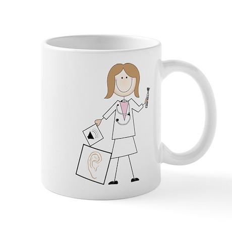 Female Audiologist Mug