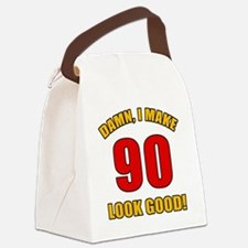90 Looks Good! Canvas Lunch Bag