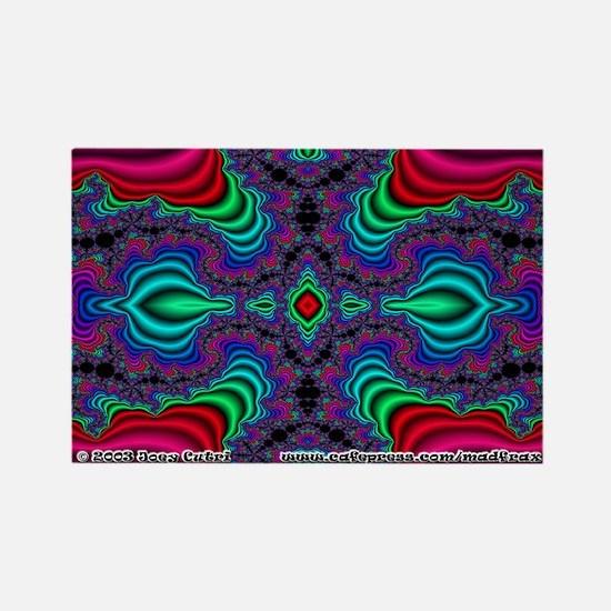 Fractal FS~04 Rectangle Magnet