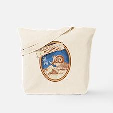 Black Hills Blue Bighorn Badge Tote Bag