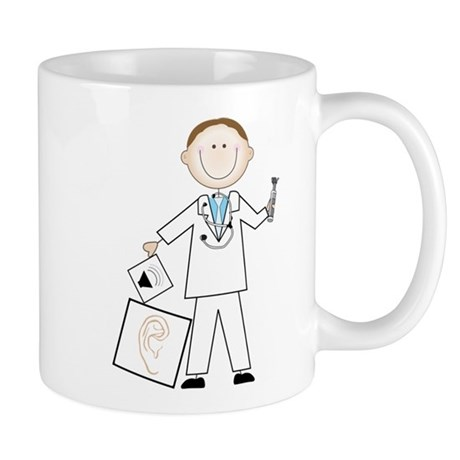 Male Audiologist Mug