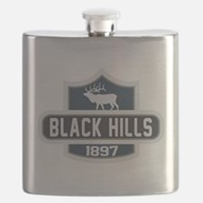 Black Hills Nature Badge Flask