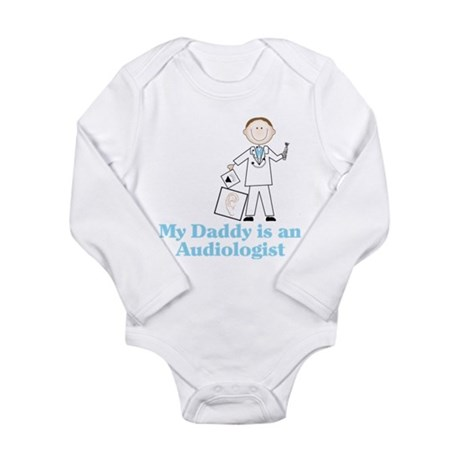 My Daddy Long Sleeve Infant Bodysuit