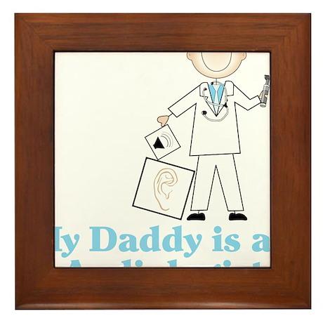 My Daddy Framed Tile