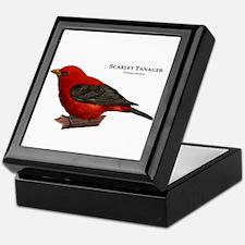 Scarlet Tanager Keepsake Box