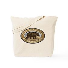 Black Hills Brown Bear Badge Tote Bag