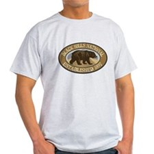 Black Hills Brown Bear Badge T-Shirt