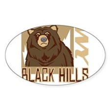 Black Hills Grumpy Grizzly Decal