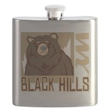Black Hills Grumpy Grizzly Flask
