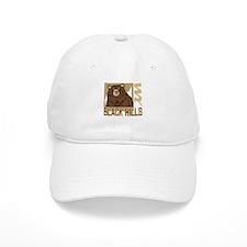 Black Hills Grumpy Grizzly Baseball Cap