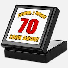 70 Looks Good! Keepsake Box