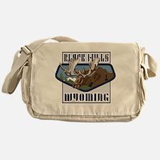 Black Hills Mountaintop Moose Messenger Bag