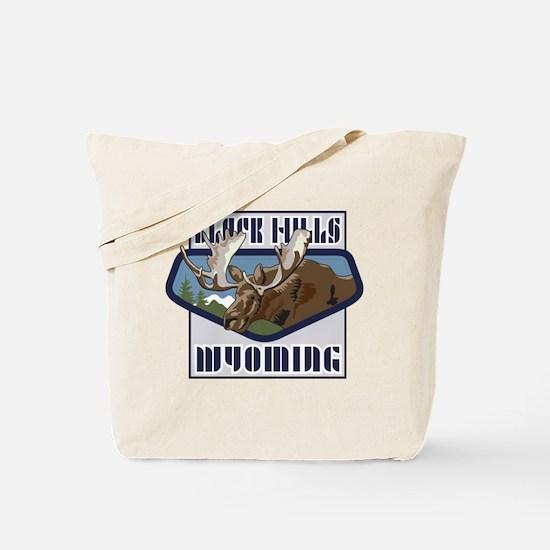 Black Hills Mountaintop Moose Tote Bag