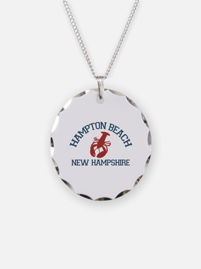 Hampton Beach NH - Lobster Design. Necklace