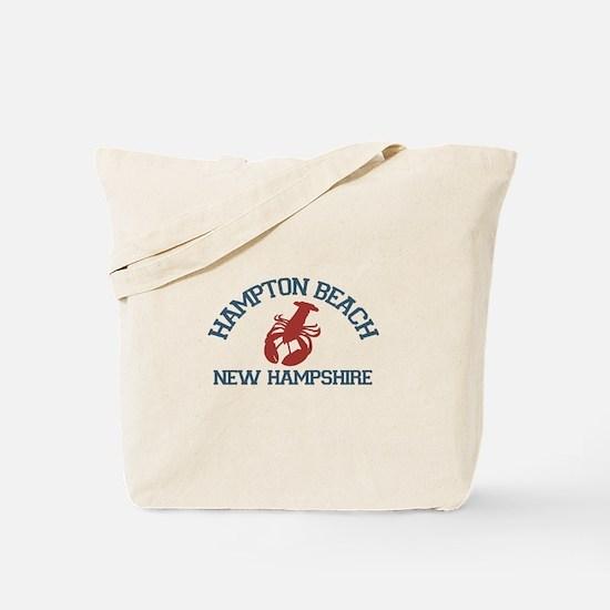 Hampton Beach NH - Lobster Design. Tote Bag