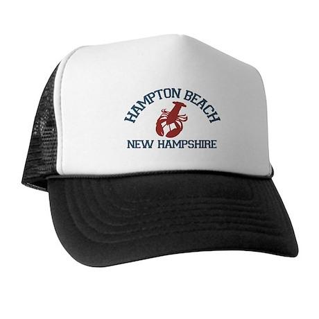 Hampton Beach NH - Lobster Design. Trucker Hat
