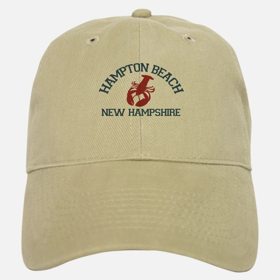 Hampton Beach NH - Lobster Design. Cap