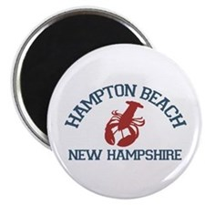 Hampton Beach NH - Lobster Design. Magnet