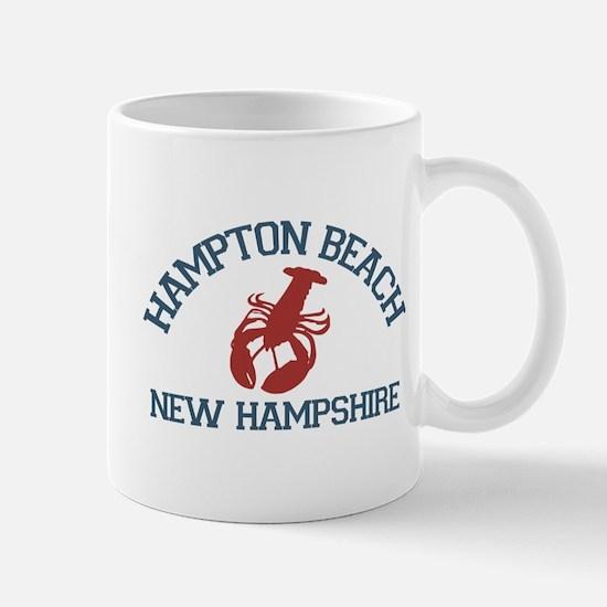 Hampton Beach NH - Lobster Design. Mug