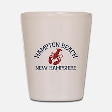 Hampton Beach NH - Lobster Design. Shot Glass