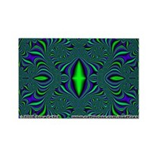 Fractal FS~21 Rectangle Magnet