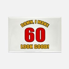 60 Looks Good! Rectangle Magnet