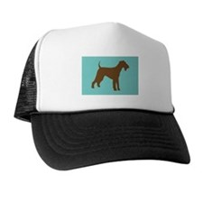 airedale terrier brown Trucker Hat
