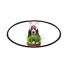 Easter Basset Hound Patches