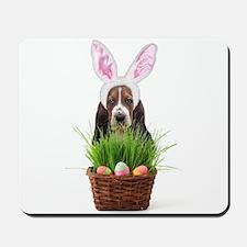 Easter Basset Hound Mousepad
