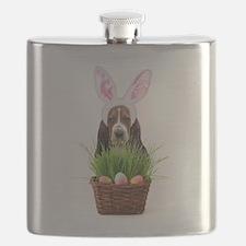 Easter Basset Hound Flask