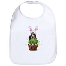 Easter Basset Hound Bib