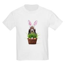 Easter Basset Hound T-Shirt