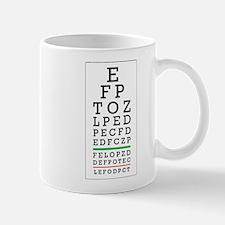 Eye Chart Mug