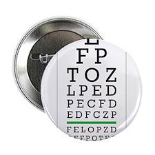 "Eye Chart 2.25"" Button"