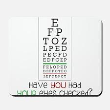 Eyes Checked Mousepad