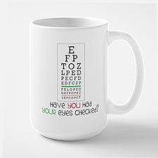 Eyes Checked Large Mug
