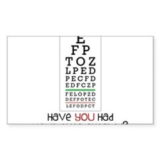 Eyes Checked Decal