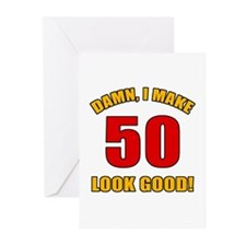 50 Looks Good! Greeting Cards (Pk of 10)