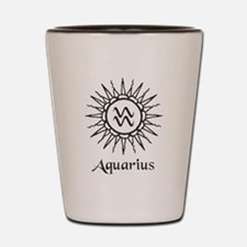 Astrology :: Aquarius Shot Glass