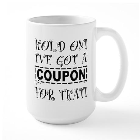 HOLD ON! Large Mug